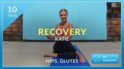 Recovery: Hips and Glutes Stretch with Katie by Physique 57