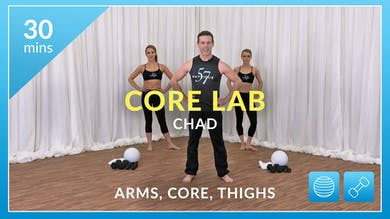 Core Lab: Arms, Abs and Thighs with Chad by Physique 57