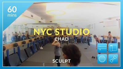 NYC Studio: Sculpt with Chad June 26th by Physique 57