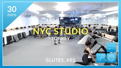 NYC Studio: Glutes and Abs with Torrey March 16th by Physique 57