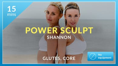 Power Sculpt: Glutes and Abs with Shannon by Physique 57