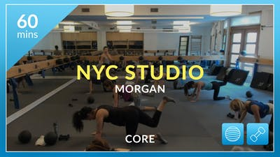NYC Studio: Core with Morgan July 26th by Physique 57