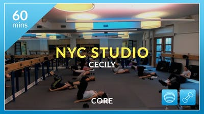 NYC Studio: Core with Cecily September 13th by Physique 57
