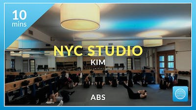 NYC Studio: Abs with Kim December 7th by Physique 57