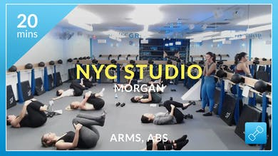 NYC Studio: Arms and Abs with Morgan January 11th by Physique 57