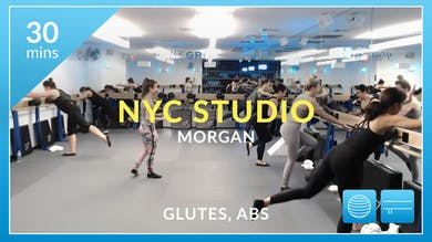 NYC Studio: Glutes and Abs with Morgan February 26th by Physique 57