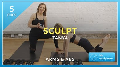 Barre 101 Sculpt: Arms and Abs with Tanya by Physique 57