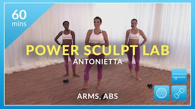 Lose 10 in 10 Power Sculpt Lab: Arms and Abs with Antonietta by Physique 57