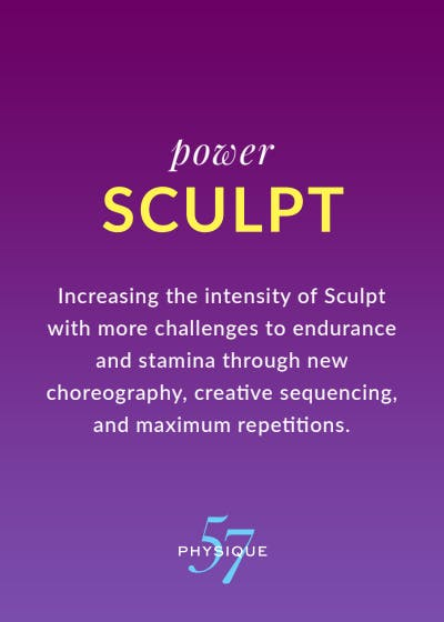 What is Power Sculpt? by Physique 57