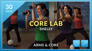 Core Lab: Arms and Abs with Shelly by Physique 57
