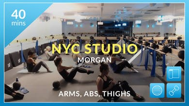 NYC Studio: Full Body with Morgan October 23rd by Physique 57