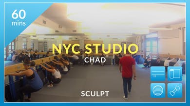 NYC Studio: Sculpt with Chad June 19th by Physique 57