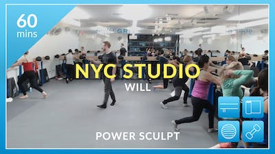 NYC Studio: Power Sculpt with Will January 23rd by Physique 57