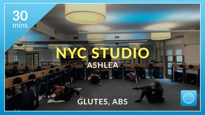 NYC Studio: Glutes and Abs with Ashlea December 18th by Physique 57