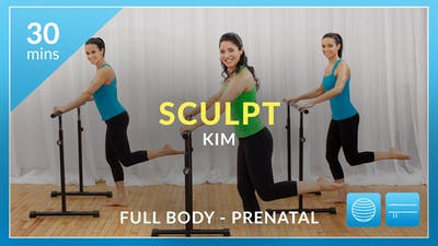 Sculpt: Full Body with Kim (Prenatal Variations) by Physique 57