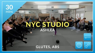 NYC Studio: Glutes and Abs with Ashlea January 26th by Physique 57