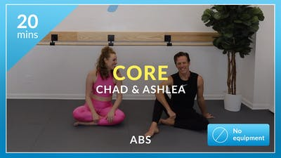 Core: 20 minute abs with Chad & Ashlea by Physique 57