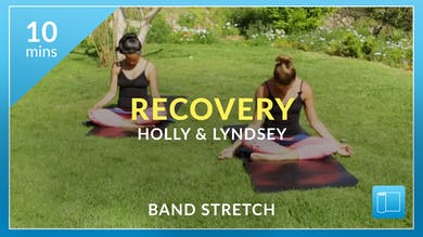 Recovery: Full Body Band Stretch with Lyndsey by Physique 57