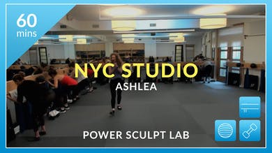 NYC Studio: Power Sculpt Lab with Ashlea January 8th by Physique 57