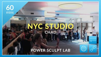 NYC Studio: Power Sculpt Lab with Chad July 17th by Physique 57