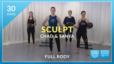 Sculpt: Full Body with Tanya and Chad by Physique 57