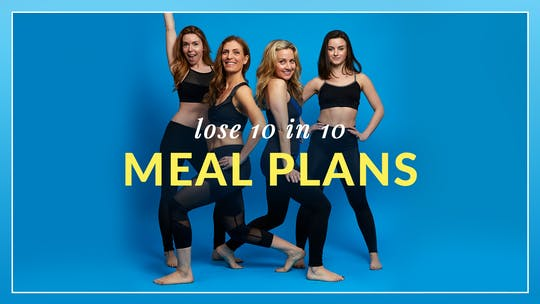 Lose 10 in 10 Meal Plans by Physique 57