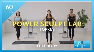 Accelerate to Great Power Sculpt Lab: Total Body with Torrey by Physique 57