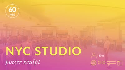 NYC Studio: Power Sculpt with Erin June 27th by Physique 57