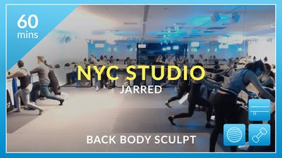 NYC Studio: Back Body Sculpt with Jarred December 19th by Physique 57