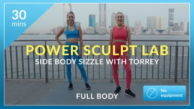 Power Sculpt Lab: Side Body Sizzle with Torrey by Physique 57
