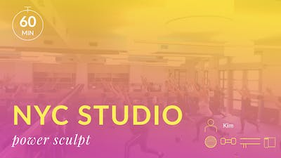 NYC Studio: Power Sculpt with Kim July 16th by Physique 57