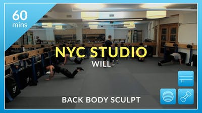 NYC Studio: Back Body Sculpt with Will January 16th by Physique 57