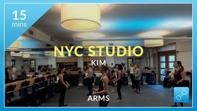 NYC Studio: Arms with Kim December 7th by Physique 57