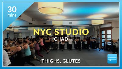 NYC Studio: Thighs and Glutes with Chad December 11th by Physique 57