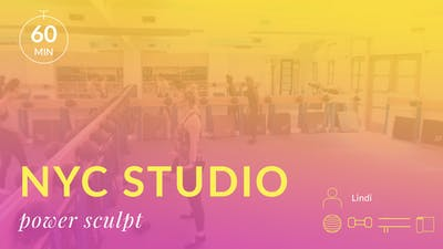 NYC Studio: Power Sculpt with Lindi July 18th by Physique 57