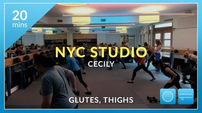 NYC Studio: Glutes and Thighs With Cecily September 27th by Physique 57