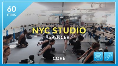 NYC Studio: Core with Spencer December 29th by Physique 57