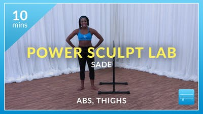 Cardio Burn with Sade (Abs and Thighs) by Physique 57
