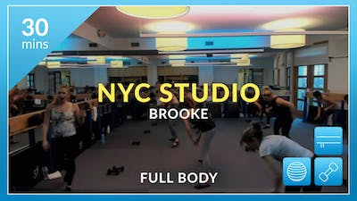 NYC Studio: Full Body with Brooke September 13th by Physique 57