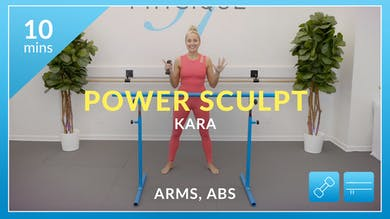 Power Sculpt Arms and Abs with Kara by Physique 57