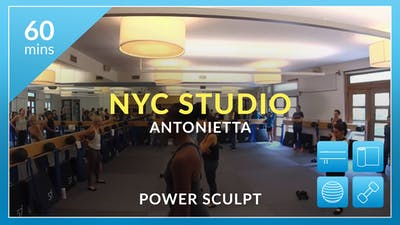 NYC Studio: Power Sculpt with Antonietta May 17th by Physique 57