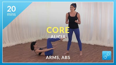 Core: Arms and Abs with Alicia by Physique 57
