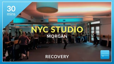 NYC Studio: Recovery with Morgan November 16th by Physique 57