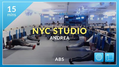 NYC Studio: Abs with Andrea October 5th by Physique 57