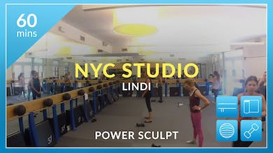 NYC Studio: Power Sculpt with Lindi June 27th by Physique 57