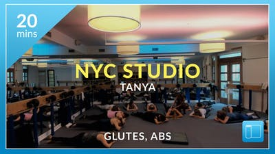 NYC Studio: Abs and Glutes with Tanya October 28th by Physique 57
