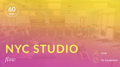NYC Studio: Flow with Lindi August 3rd by Physique 57