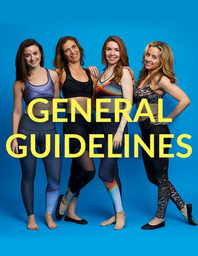 10 in 10 General Guidelines by Physique 57