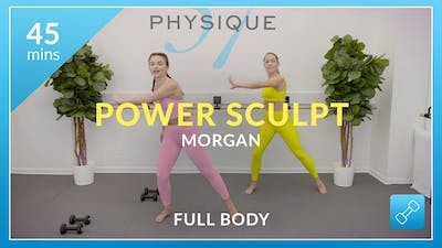 Power Sculpt with Morgan by Physique 57