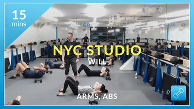 NYC Studio: Arms and Abs with Will January 9th by Physique 57